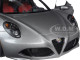 Alfa Romeo 4C Metallic Grey 1/18 Model Car Autoart 70187