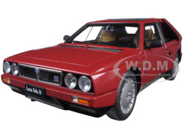 Lancia Delta S4 Red 1/18 Diecast Model Car Autoart 74771