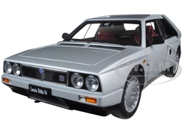 Lancia Delta S4 Grey 1/18 Diecast Model Car Autoart 74772