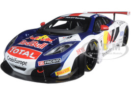 Mclaren 12C GT3 Red Bull S.Loeb/A.Parente #9 1/18 Diecast Model Car Autoart 81342