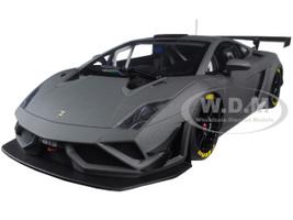 Lamborghini Gallardo GT3 FL2 2013 Matt Grey 1/18 Model Car Autoart 81360