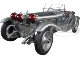 1930 Alfa Romeo 6C 1750 Grand Sport Clear Finish Limited Edition To 1,000pcs 1/18 Diecast Model Car CMC 142