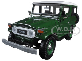 Toyota FJ40 FJ 40 Green 1/24 Diecast Model Car Motormax 79323