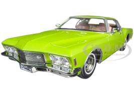 1971 Buick Riviera GS Green 1/18 Diecast Model Car Road Signature 92558