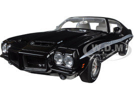 1972 Pontiac GTO LeMans Starlight Black Limited Edition to 554pcs 1/18 Diecast Model Car Acme A1801205