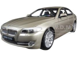 2010 BMW (F10) 535i 5 Series Gold 1/24 Diecast Model Car Welly 24026