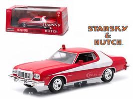 1976 Ford Gran Torino Red Starsky and Hutch 1975 1979 TV Series 1/43 Diecast Model Car Greenlight 86442