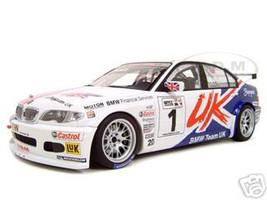 BMW 320i E46 2005 WTCC #1 A.Priaulks Uk  Diecast Model 1/18 Die Cast Car By Autoart