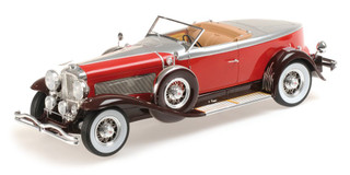 1929 Duesenberg Model J Torpedo Convertible Coupe 1/18 Model Car Minichamps 107150430
