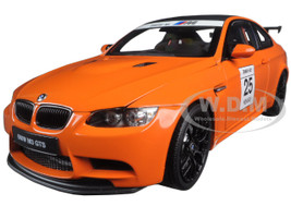 BMW M3 GTS 25 Years Anniversary Fire Orange 1/18 Diecast Model Car Kyosho 08739