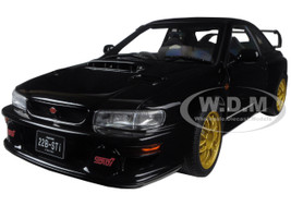 Subaru Impreza 22B Black (Upgraded Version) Limited Edition to 1500pcs 1/18 Diecast Model Car Autoart 78604