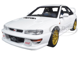 Subaru Impreza 22B White (Upgraded Version) Limited Edition to 1500pcs 1/18 Diecast Model Car Autoart 78605