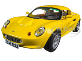 1999 Lotus Elise 111S Yellow 1/18 Diecast Model Car Sunstar 1033