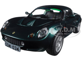 1999 Lotus Elise 111S Metallic Dark Green 1/18 Diecast Model Car Sunstar 1034