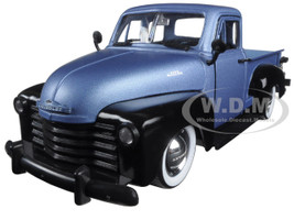 "1953 Chevrolet Pickup Truck Blue ""Just Trucks"" with Extra Wheels 1/24 Diecast Model Jada 97330"