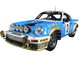 Porsche 911 #3 Winner Monte Carlo Rally 1978 J.P Nicolas - N. Laverne 1/18 Model Car Spark 18S095