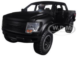 2011 Ford F-150 SVT Raptor Pickup Truck Matt Black 1/24 Diecast Model Jada 96867