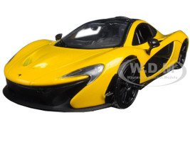 McLaren P1 Yellow 1/24 Diecast Model Car Motormax 79325