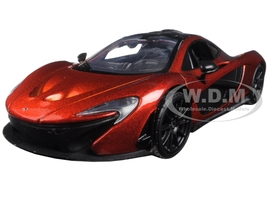 McLaren P1 Orange 1/24 Diecast Model Car Motormax 79325