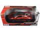 McLaren P1 Orange 1/24 Diecast Model Car Motormax 79325