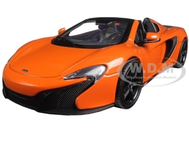 McLaren 650S Spider Orange 1/24 Diecast Model Car Motormax 79326