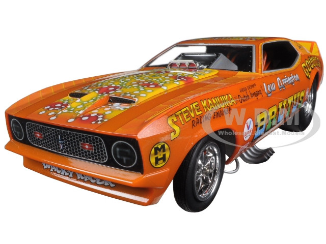 1971 Ford Mustang NHRA Funny Car Limited Edition to 750pcs 1//18 by Autoworld AW1169