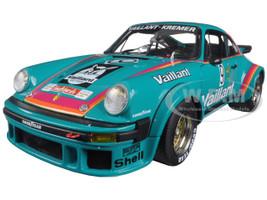 Porsche 934 RSR Vaillant #9 Green 1/18 Diecast Model Car Schuco 450033600