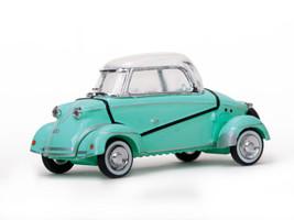 """1958 Messerschmitt """"Tiger"""" TG500 Green 1/43 Diecast Model Car Vitesse 29053"""