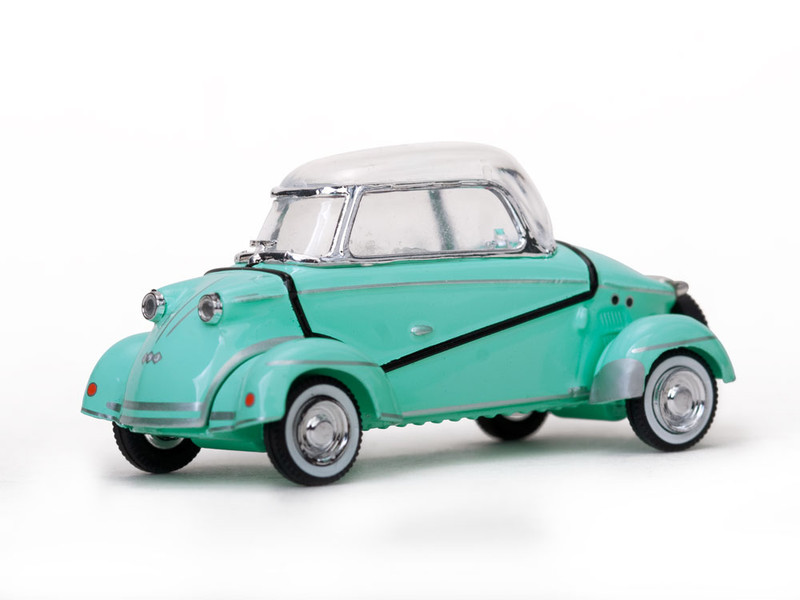 "1958 Messerschmitt ""Tiger"" TG500 Green 1/43 Diecast Model Car Vitesse 29053"