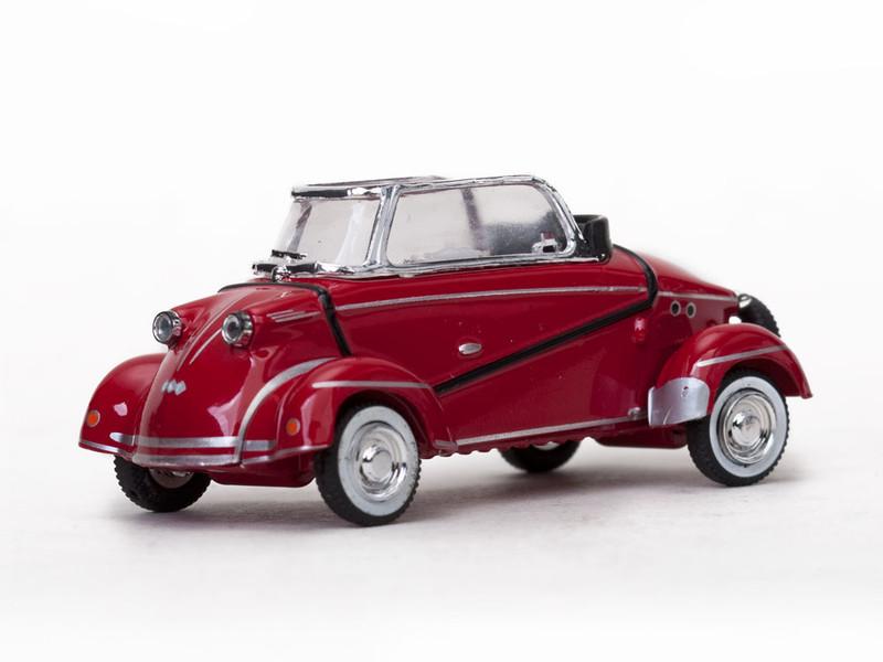 """1958 Messerschmitt """"Tiger"""" TG500 Convertible Red 1/43 Diecast Model Car Vitesse 29054"""