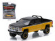 "2015 Chevrolet Silverado 1500 Black and Yellow Pickup Truck ""All Terrain"" Series 2 1/64 Diecast Model Greenlight 35020 E"