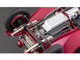 1930 Alfa Romeo 6C 1750 Grand Sport Red 1/18 Diecast Model Car CMC 138