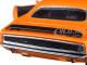 1970 Plymouth Cuda Orange with Black 1/24 Diecast Model Car New Ray 71873