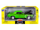 1969 Dodge Charger R/T Black 1/25 Diecast Model Car New Ray 71873