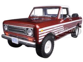1979 International Scout Pickup Truck Tahitian Red 1/25 Diecast Car Model First Gear 40-0363