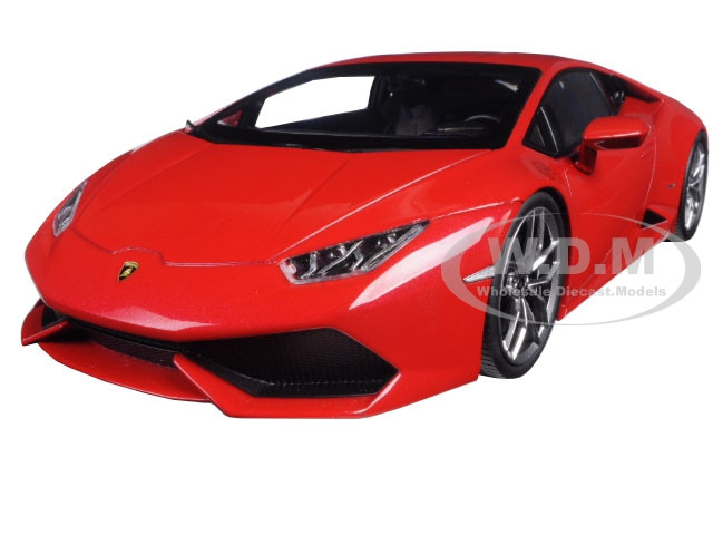 Lamborghini Huracan LP610-4 Red 1/18 Diecast Car Model Kyosho 09511