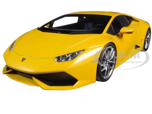 Lamborghini Huracan LP610-4 Yellow 1/18 Diecast Car Model Kyosho 09511