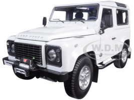 1984 Land Rover Defender 90 Fuji White 1/18 Diecast Car Model Kyosho 08901