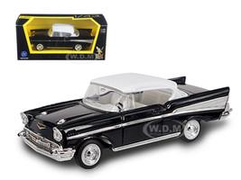 1957 Chevrolet Bel Air Black 1/43 Diecast Model Car Road Signature 94201