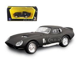 1965 Shelby Cobra Daytona Coupe Matt Black 1/43 Diecast Model Car Road Signature 94242