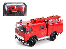 1965 Magirus Deutz 100 D 7FA LF8-TS Red Fire Engine 1/43 Diecast Model Road Signature 43017