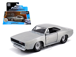 """Dom's Dodge Charger R/T Bare Metal """"Fast & Furious 7"""" Movie 1/32 Diecast Model Car Jada 97350"""