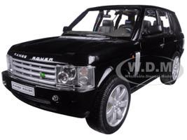 Land Rover Range Rover Black 1/24 Diecast Model Car Welly 22415