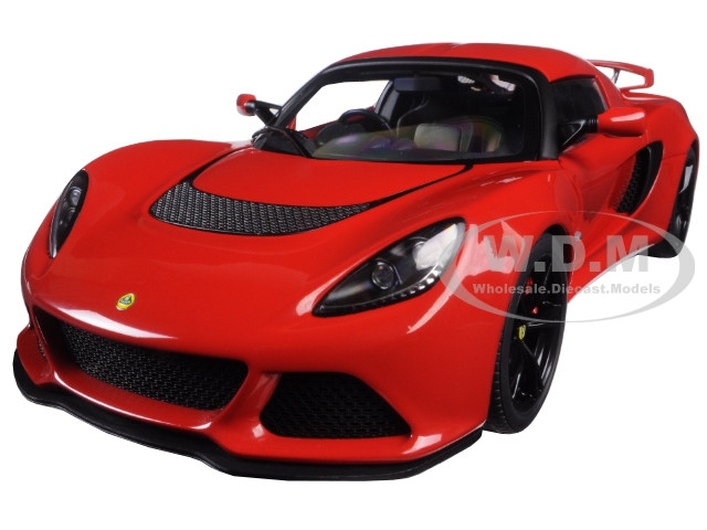 Lotus Exige S Red 1/18 Model Car Autoart 75381
