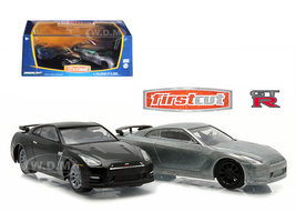 First Cut 2007-14 Nissan Skyline GT-R (R35) Hobby Only Exclusive 2 Cars Set 1/64 Diecast Model Cars Greenlight 29831