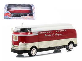 """1940 General Motors Futurliner """"Parade of Progress"""" Hobby Exclusive 1/64 Diecast Model Greenlight 29832"""