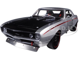 1967 Chevrolet Camaro Street Fighter Metallic Silver Limited Edition to 1332pcs 1/18 Diecast Model Car GMP 18806