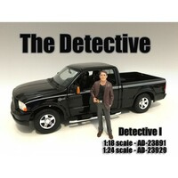 """The Detective #1"" Figure For 1:18 Scale Models American Diorama 23891"
