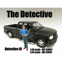 """The Detective #3"" Figure For 1:18 Scale Models American Diorama 23893"