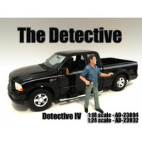 """The Detective #4"" Figure For 1:18 Scale Models American Diorama 23894"